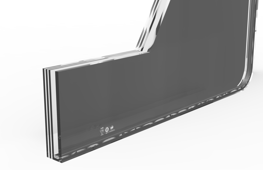 A60 FIRE RATED GLASS
